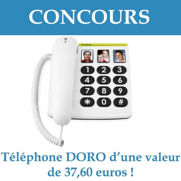 concours téléphone pour sénior