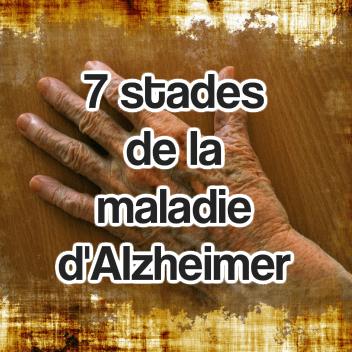 7 stades de la maladie d'alzheimer