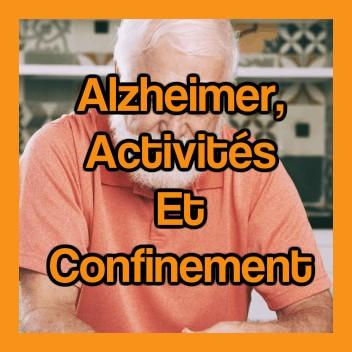 Alzheimer activité et confinement covid 19