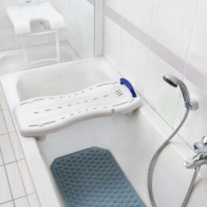 planche de bains chutes